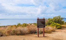 Santa Monica Mountains Conservancy Overlooking The Sea