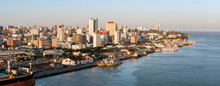 Maputo Downtown Cityscape, Capital City Of Mozambique,