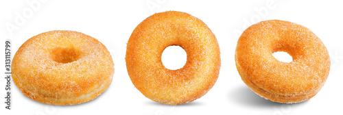 Fototapeta Donut on a white isolated background obraz