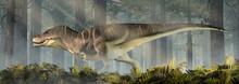 A Fat Tyrannosaurus Rex Stands...