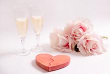 San Valentín. Corazón Rojo D...