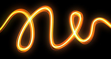Light Wave Trail Effect With N...