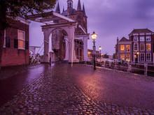 Cobblestone Street And Histori...