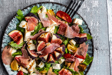 Autumnal Salad With Figs, Arug...