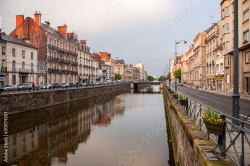 Rennes Canal Tablou Canvas