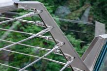 A Corner Of A Glass Bridge Wit...
