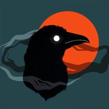 Vector Illustration Of Bird-ra...