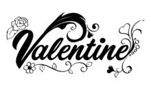 Valentine Wordart