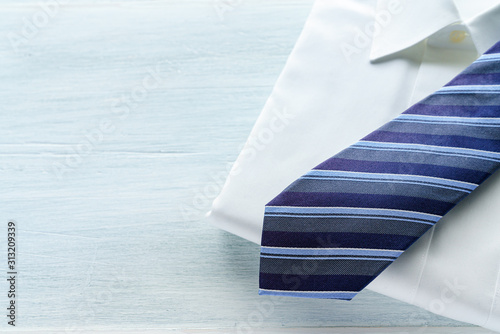 Yシャツとネクタイ Canvas Print