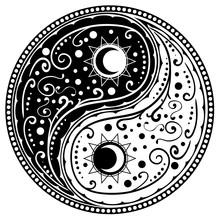 Yin Yang Paisley