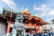 Leinwanddruck Bild - 東京都千代田区神田にある神社の初詣の風景