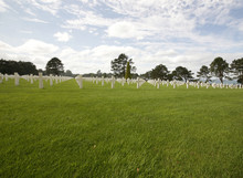 Us Cemetery Omaha Beach - Normandy, France