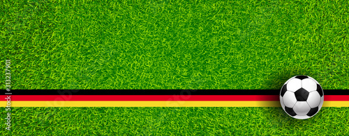 Obraz fussball - fototapety do salonu