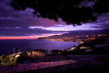 Panoramic Night View Of Sanrem...