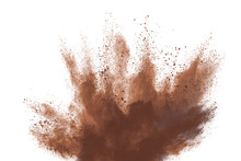 Brown Color Powder Explosion I...