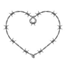 Heart Symbol Made Of Spiraling...