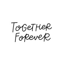 Together Forever Calligraphy Q...