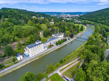Aerial View Of Teplice Nad Bec...