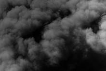 Dark Sinister Smoke Clouds Fro...