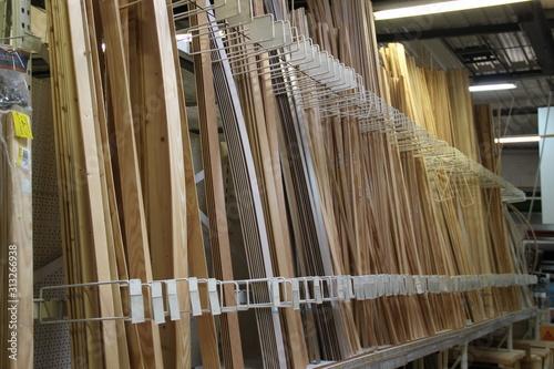 Lattes de parquet en bois à vendre Poster Mural XXL
