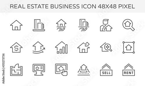 Fotografía real estate icon