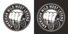 Vintage Monochrome Wild West R...