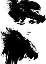 Portrait Beautiful Woman