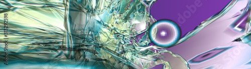 Photo Abstract illustration