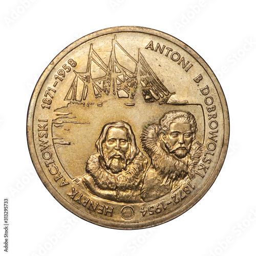 Fotografía  Polish commemorative coin