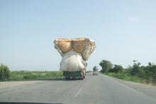 Over Loaded Truck Near Karachi...
