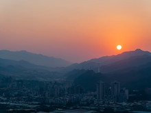 Sunset Landscape Of New Taipei City