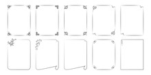 Set Of Frames From Lines. For ...