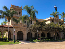 The Casa Del Prado At Balboa Park In San Diego, California, USA. August 22nd, 2019
