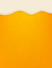 Lager Beer Background. Beer In...