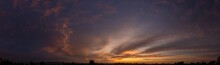 Partly Cloudy Sunset 03