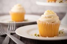 Vanilla Cupcakes And Cupcake S...