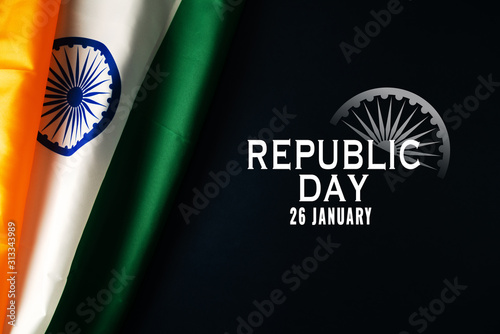Obraz India Republic Day Celebration on January 26, Indian national day - fototapety do salonu