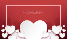 Happy Valentine's Day Banner V...