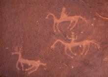 Archaeological Ruins At Canyon De Chelly National Monument, Navajo Nation, Arizona