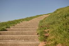 カーブの階段