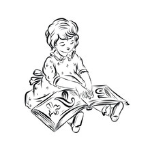 Boy With Opening Book, Little ...