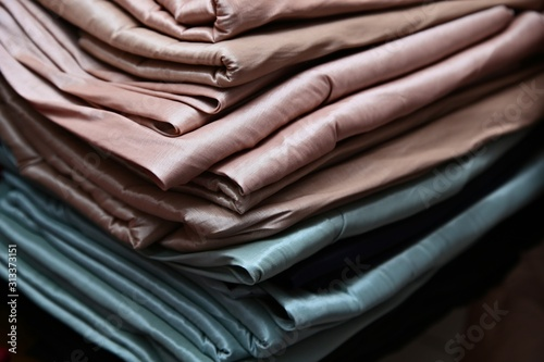 Valokuvatapetti Taffeta fabric is a crisp, smooth, plain woven textile made from silk or cuprammonium rayons as well as acetate and polyester