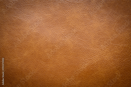 Obraz na płótnie Brown leather texture . background