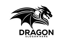 Dragon Logo Icon, Dragon Logo ...