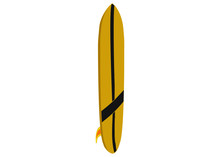 Banana Yellow Longboard Surfboard
