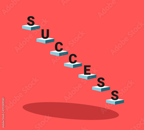 Photo Succcess and being successful -  achievement and attainment