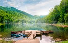 Biogradska Lake In National Park