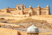 Gorgeous View Of The Amer Fort...