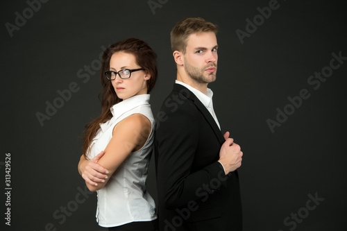 Photo business couple