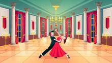 Ballroom Hall, Waltz Dancers I...